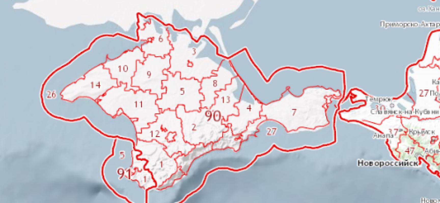 Адреса земельного кадастра в Крыму